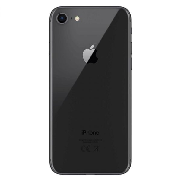 refurbished iphone 8 space gray back
